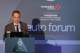 Θεσμικός Χαιρετισμός:  Αθανάσιος Βούρδας, Γενικός Γραμματέας Μεταφορών, Υπουργείο Υποδομών και Μεταφορών
