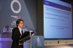 Ομιλία – Παρουσίαση: Bernadette Moreau, General Delegate of the VINCI Autoroutes foundation for responsible driving