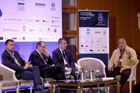 Panel I: Κωνσταντίνος Στέφας, Δημήτριος Πάτσιος, Γεώργιος Γιαννής, Συντονιστής: Τάκης Πουρναράκης
