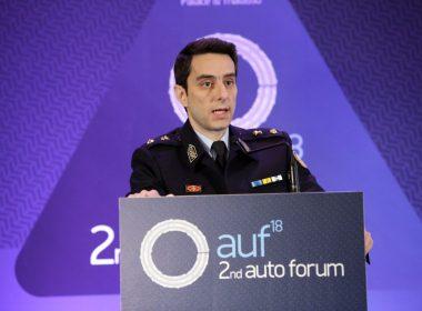 Ομιλία: Ευάγγελος Κουντρομιχάλης, Υποδιοικητής Τμήματος Τροχαίας Αττικής Οδού - Τίτλος ομιλίας: «Η οδική ασφάλεια μέσα από το πρίσμα της Ελληνικής Αστυνομίας»